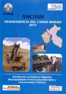 Ancash Transferencia Canon Minero 2015