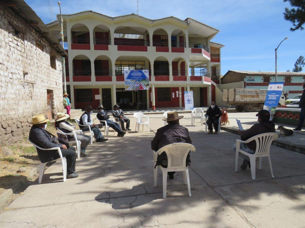 Plaza de Armas del distrito de Huachuas