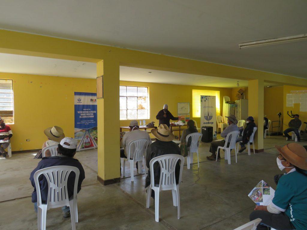 Local de la Comunidad Campesina del distrito de Llauta